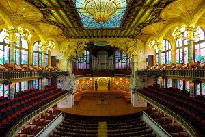 Palau de la Musica Catalana by Jiuguang Wang